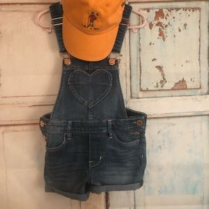 Other - Cute little girl jean overalls